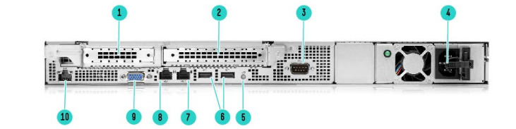 HPE ProLiant DL20 Gen10 Rack Server 4