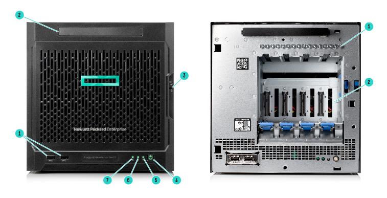 HPE ProLiant MicroServer Gen10 3