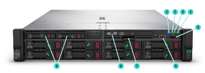 HPE ProLiant DL385 Gen10 Rack Server 4