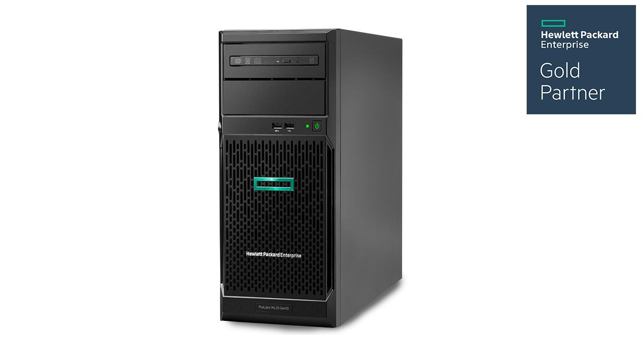 HPE ProLiant ML30 Gen10 Tower Server 1