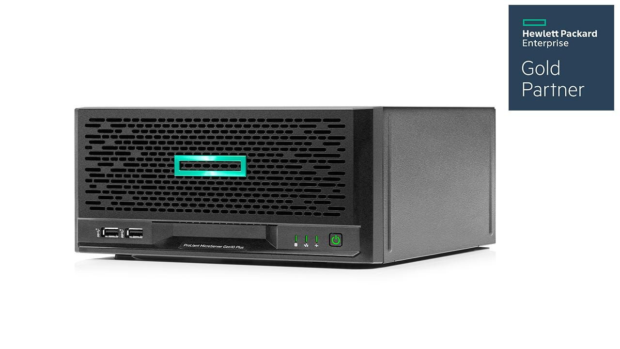 HPE ProLiant MicroServer Gen10 Plus 1
