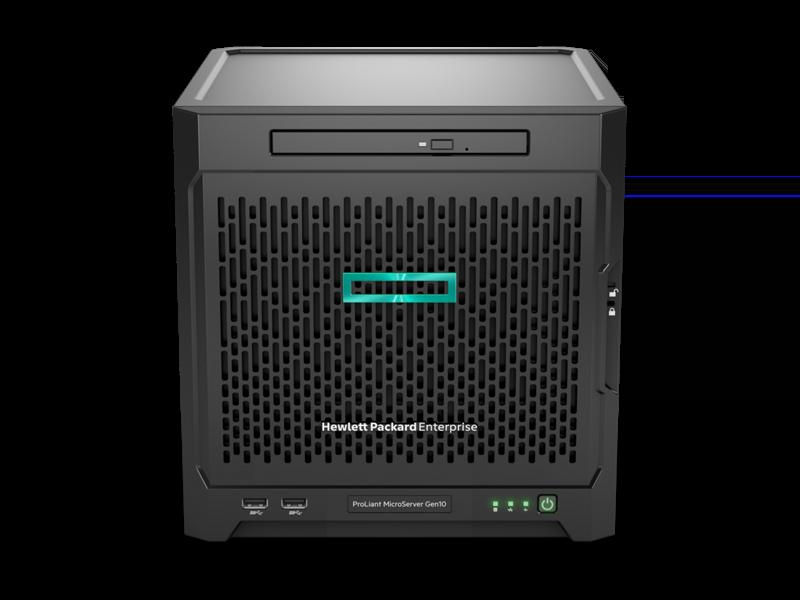 HPE ProLiant MicroServer Gen10 9