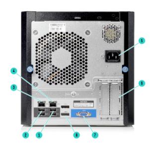 HPE ProLiant MicroServer Gen10 4