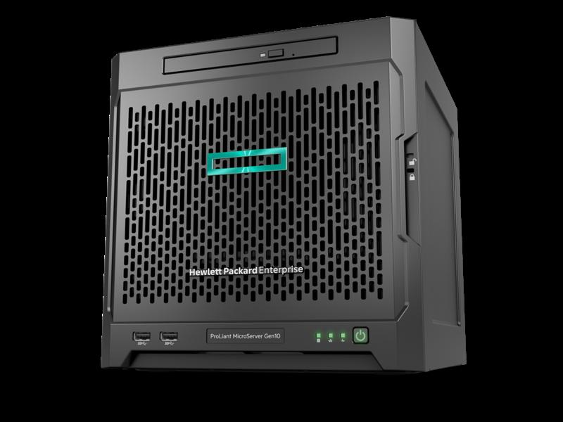 HPE ProLiant MicroServer Gen10 10