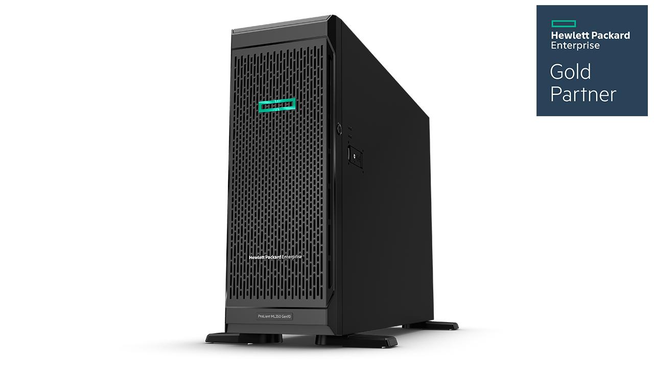 HPE ProLiant ML350 Gen10 Tower Server 1