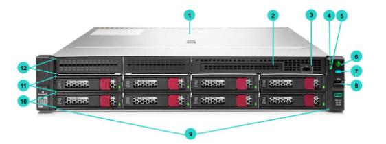 HPE ProLiant DL180 Gen10 Rack Server 6