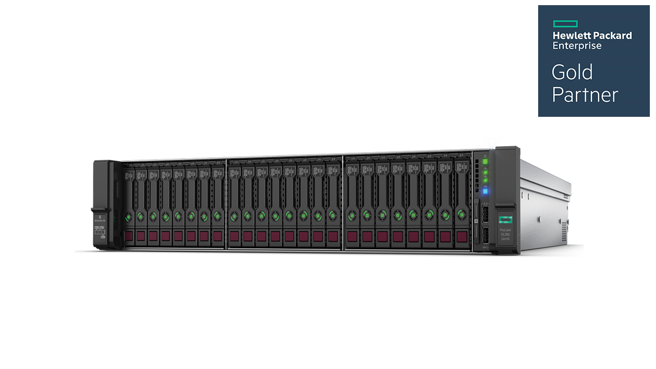 HPE ProLiant DL380 Gen10 Rack Server - HPE Gold Partner 2