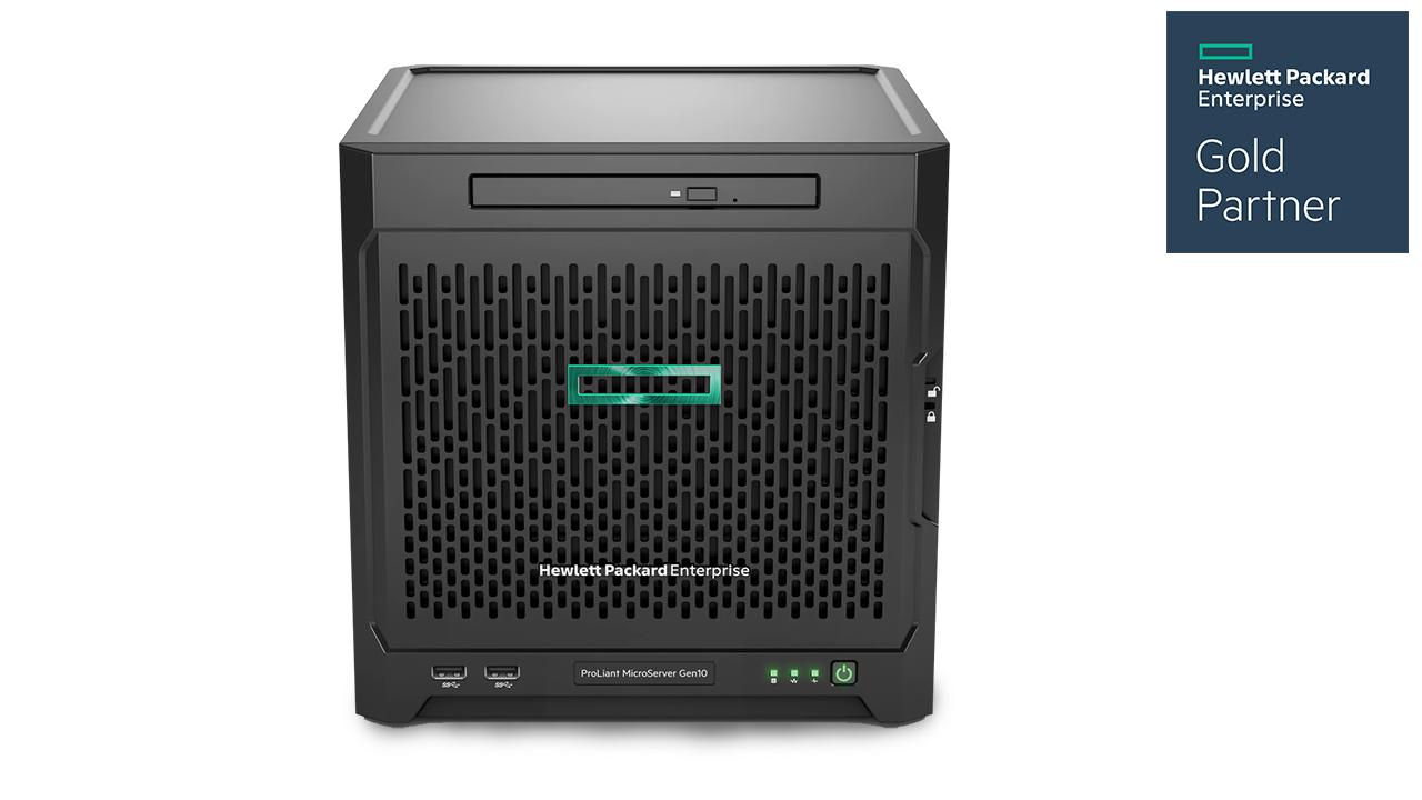 HPE ProLiant MicroServer Gen10 1