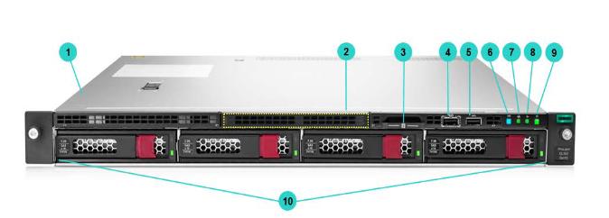 HPE ProLiant DL160 Gen10 Rack Server 4