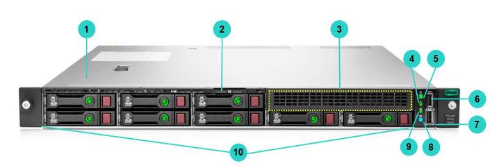 HPE ProLiant DL160 Gen10 Rack Server 3