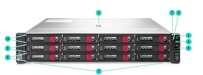 HPE ProLiant DL180 Gen10 Rack Server 7