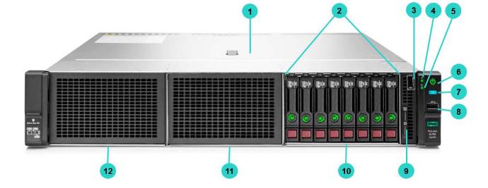 HPE ProLiant DL180 Gen10 Rack Server 3