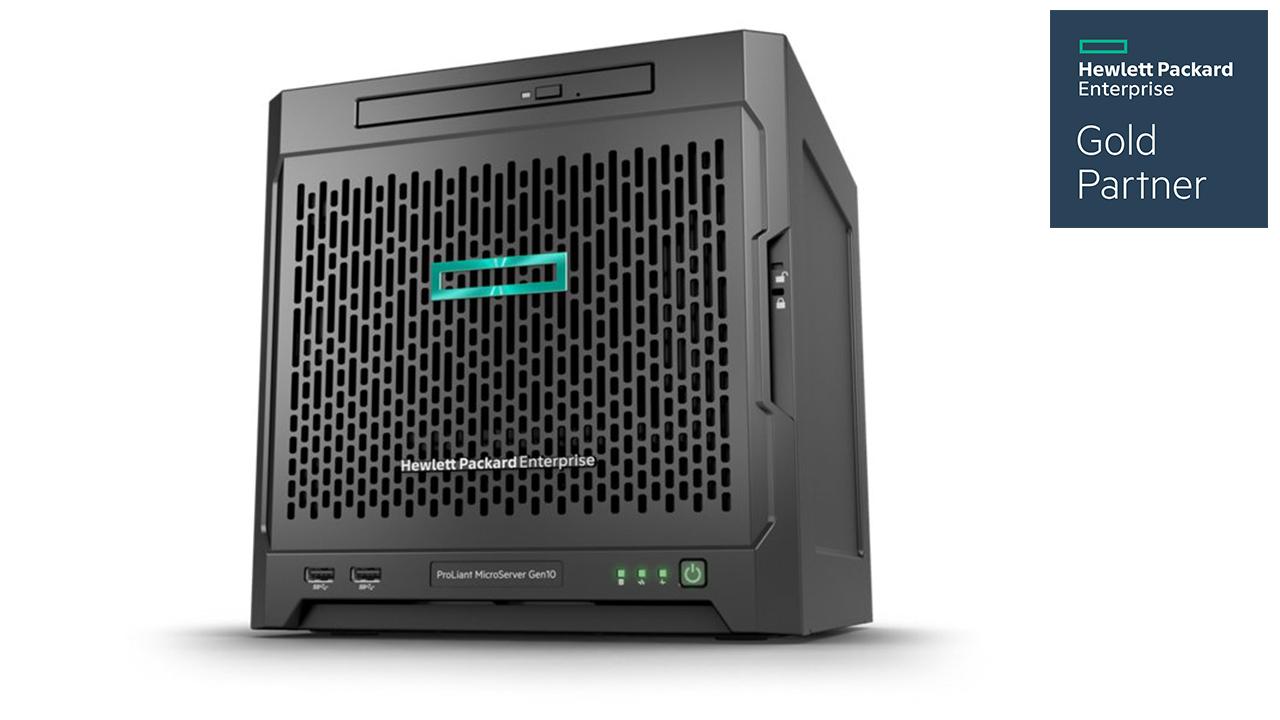 HPE ProLiant MicroServer Gen10 2