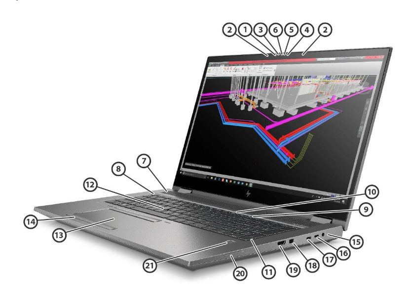 HP Zbook Fury 17 G8 Mobile Workstation 3