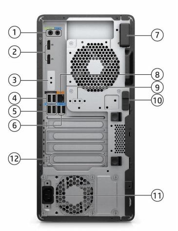 HP Z2 Tower G5 Workstation 4