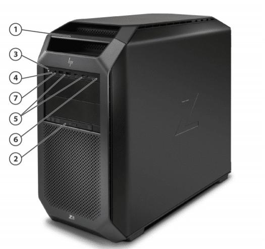 HP Z8 G4 Workstation in UAE 3
