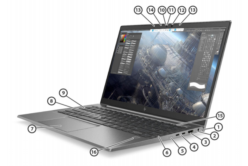 HP ZBook Firefly 14 G7 Mobile Workstation 4