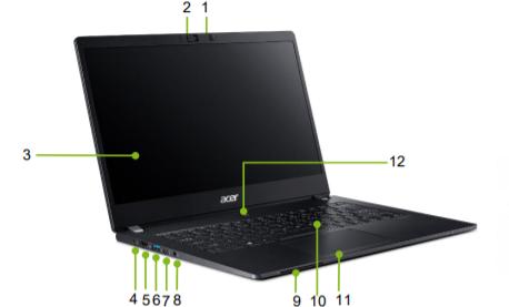 Acer TravelMate P6 TMP614-51-G2 3