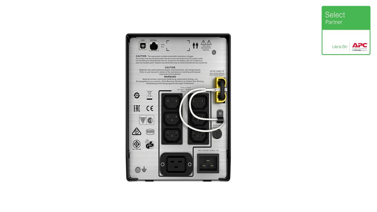 SMC2000I - APC Smart-UPS C 2000VA LCD 230V 2
