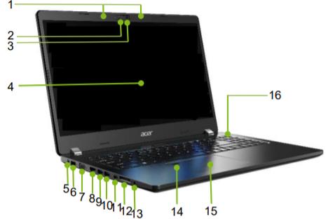 Acer TravelMate P2 TMP215-52 3