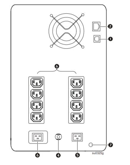 SMC3000RMI2U - APC Smart-UPS C 3000VA Rack mount LCD 230V 4