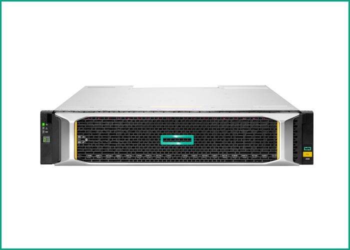 HPE MSA 2050 SAN Dual Controller LFF Storage 10