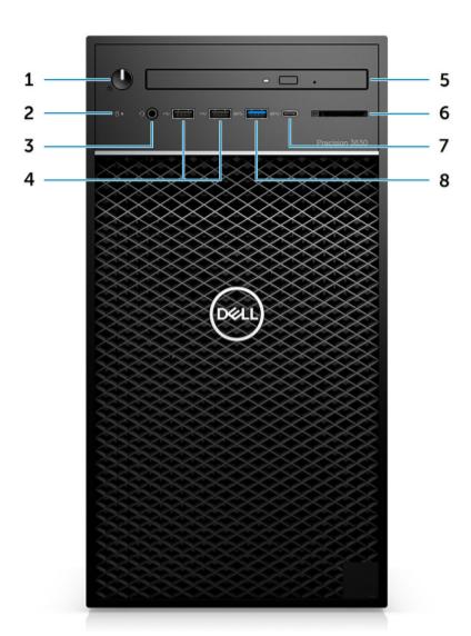 Dell Precision Desktop Workstation 3630 Tower 3
