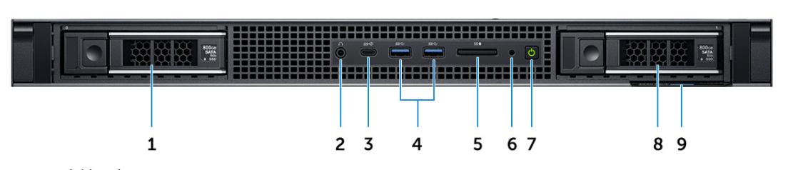 Dell Precision Desktop Workstation 3930 Rack 3