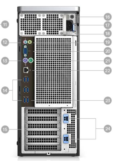 Dell Precision Desktop Workstation T5820 Tower in UAE 4