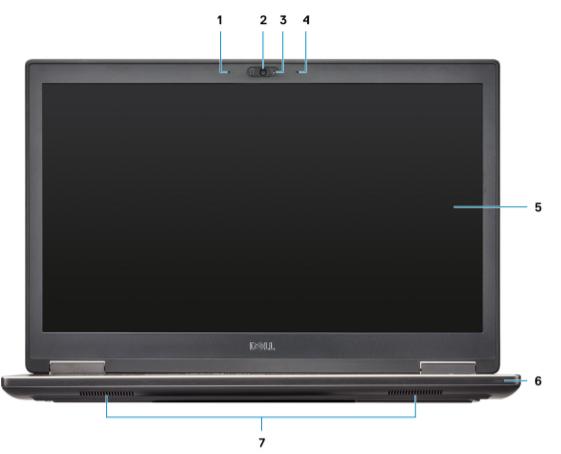 Dell Precision Mobile Workstation M7740 5