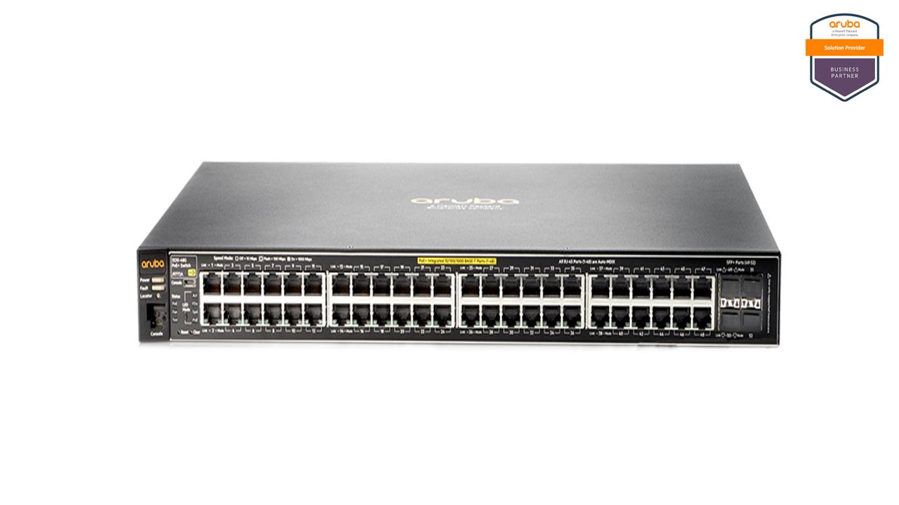 Aruba 2530 48G PoE+ Switch 1