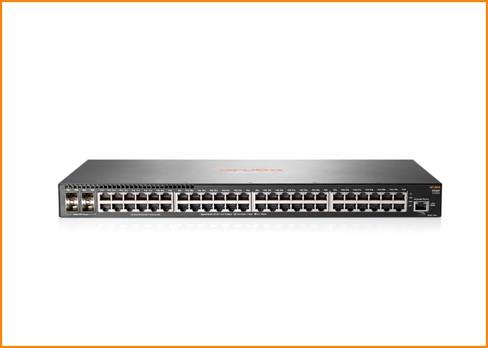 Aruba 2930F 48G PoE+ 4SFP Switch (370W) 9