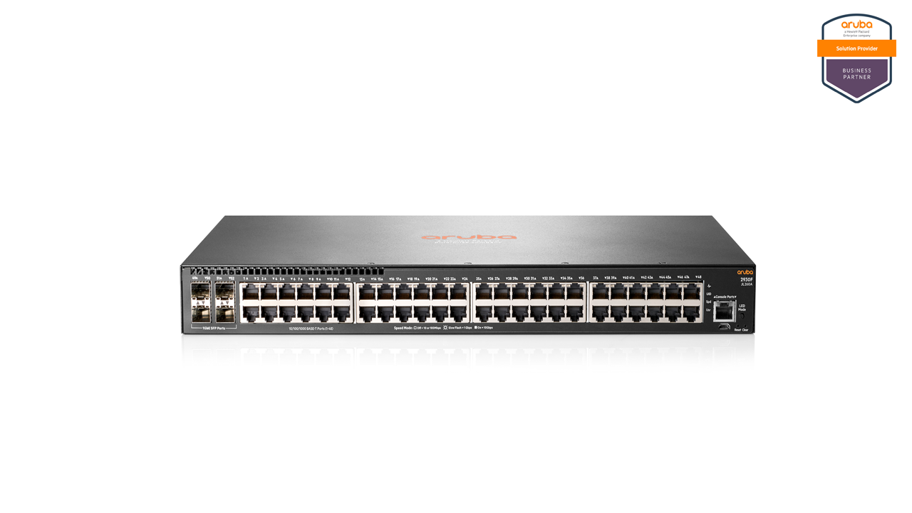 Aruba 2930F 48G 4SFP Switch 1