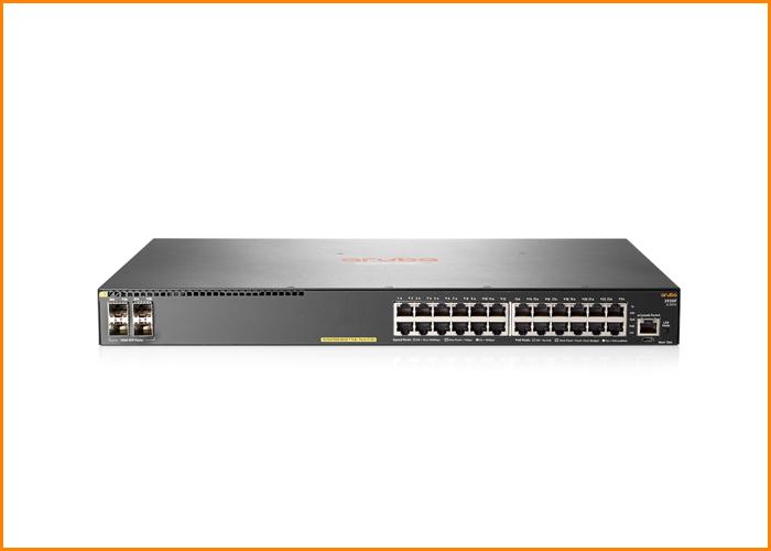 Aruba 2930F 48G PoE+ 4SFP Switch (370W) 10