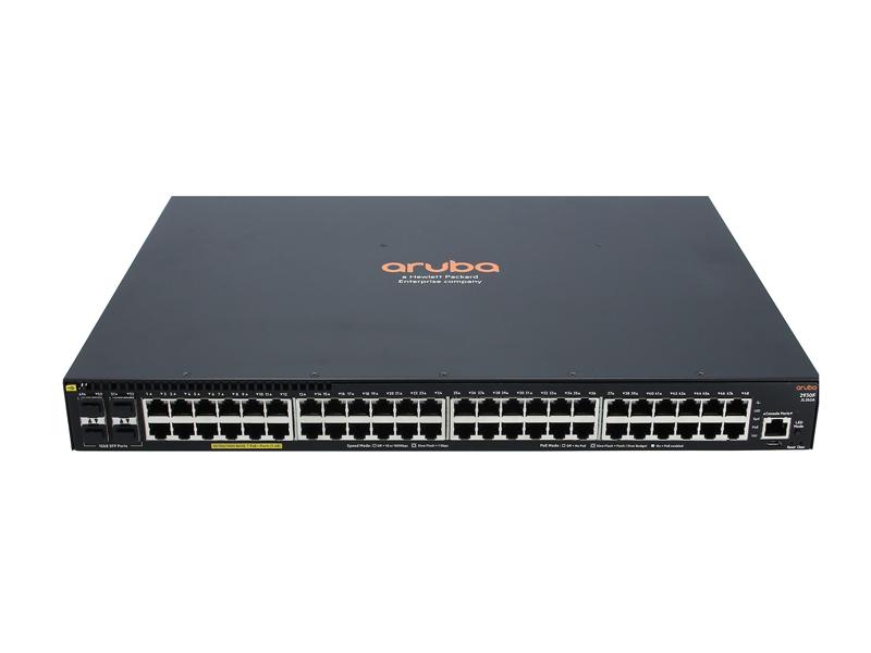 Aruba 2930F 48G PoE+ 4SFP Switch (370W) 5