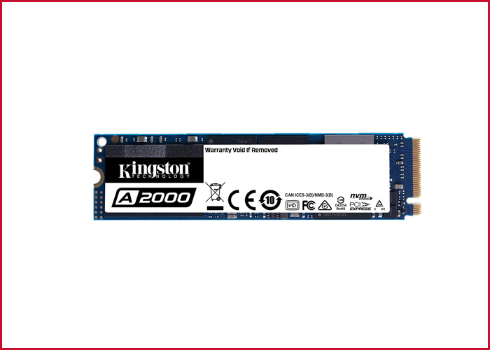 Kingston's NV1 NVMe™ PCIe SSD 8