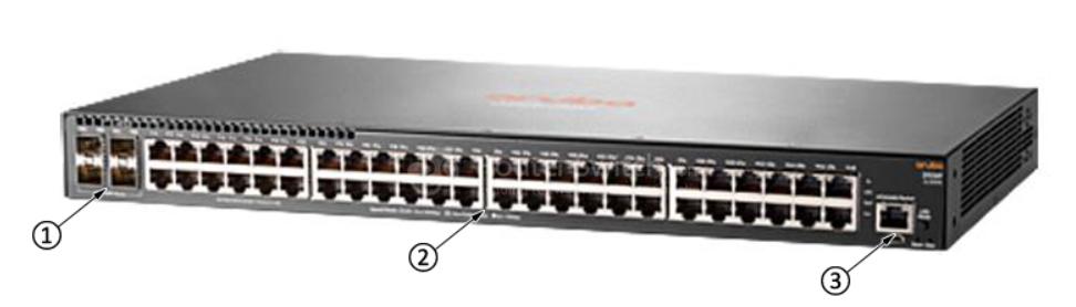 Aruba 2930F 48G 4SFP Switch 3