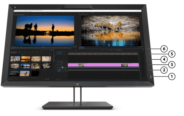 HP Z27X G2 QHD DREAMCOLOR Professional Display 3