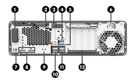 HP Z2 Small Form Factor G8 Workstation 4
