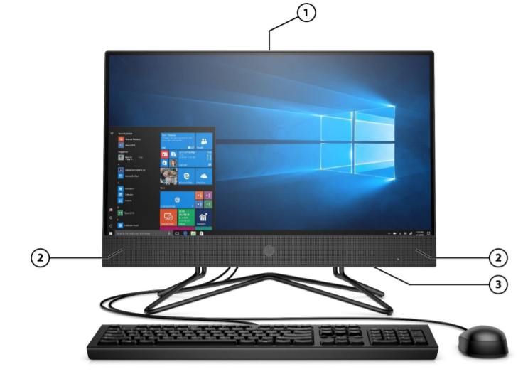 HP 200 G4 All-in-One Business PC 3