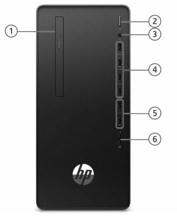 HP 290 G4 Microtower PC 3