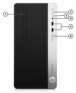 HP ProDesk 400 G6 Microtower PC 3