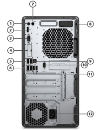 HP ProDesk 400 G6 Microtower PC 4