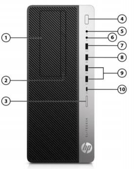 HP EliteDesk 800 G5 Tower PC 3