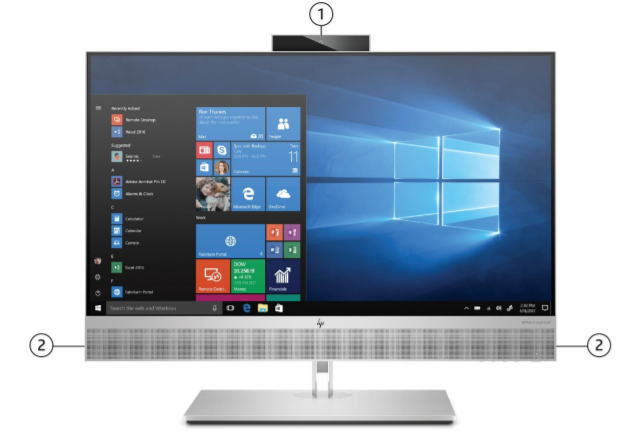 HP EliteOne 800 G6 All in One Touch Desktop PC 3