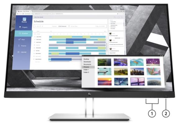 HP E27q G4 QHD Monitor 3