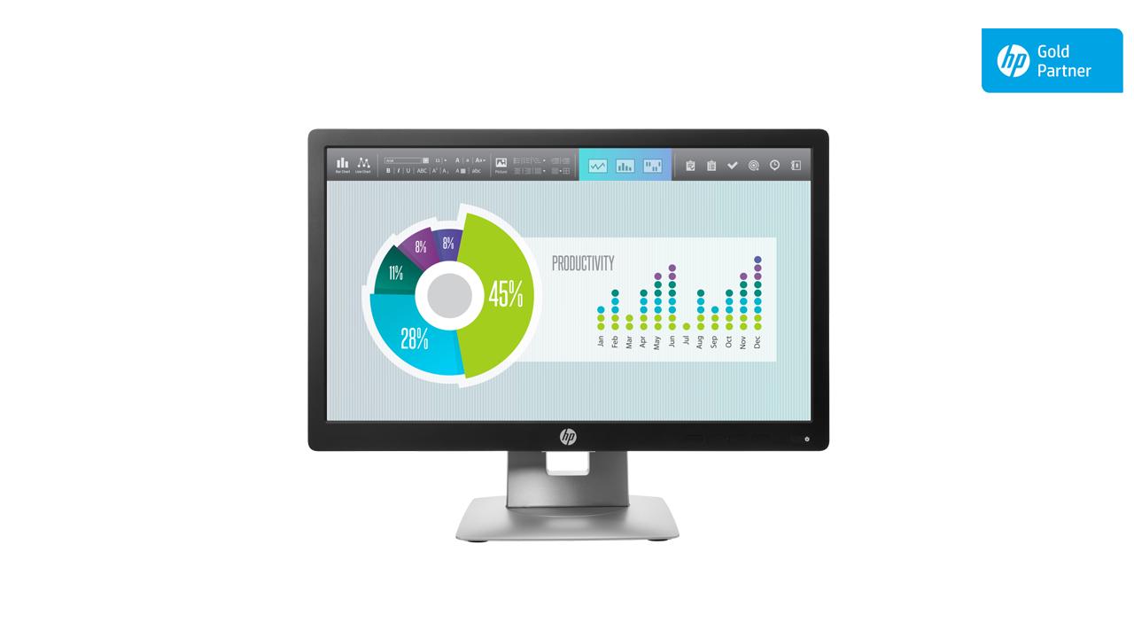 HP EliteDisplay E202 20-inch Monitor 1