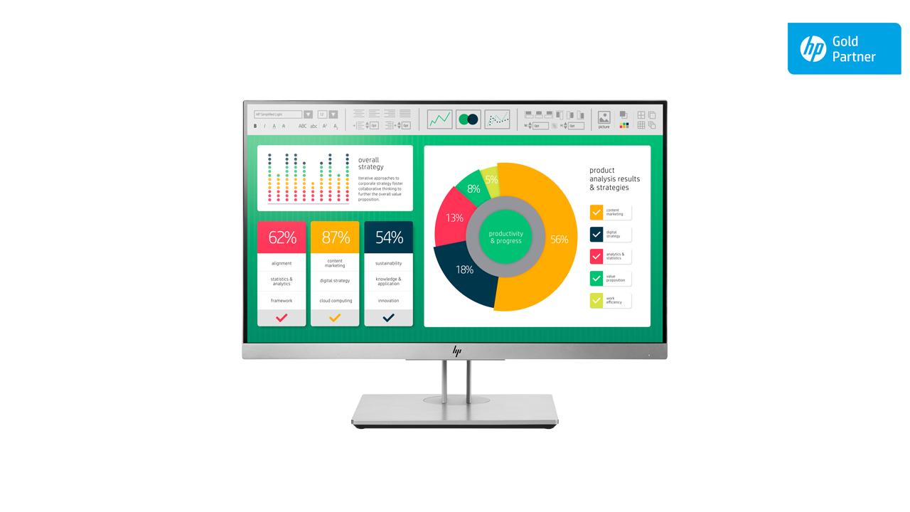 HP EliteDisplay E223 21.5 Inch Monitor 1