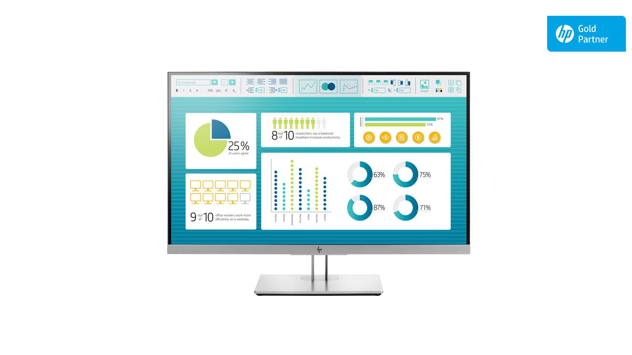 HP EliteDisplay E273 27- inch Monitor 1