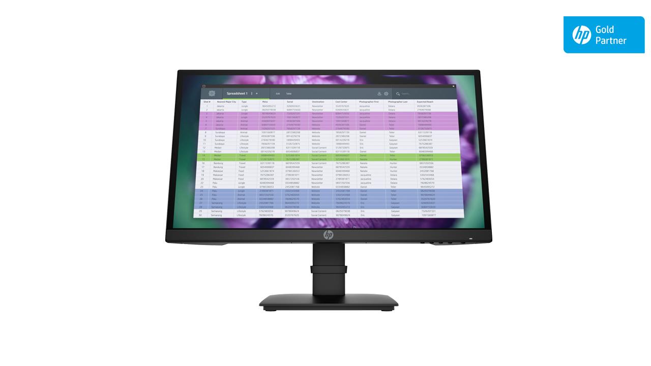 HP P22 G4 FHD Monitor 1